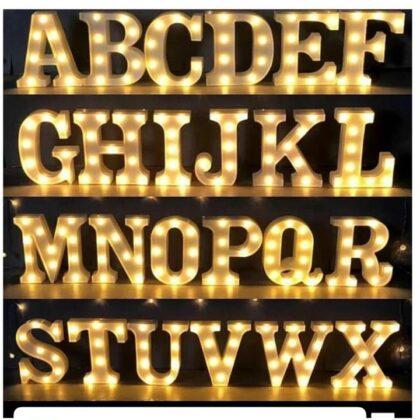 Led Alphabet